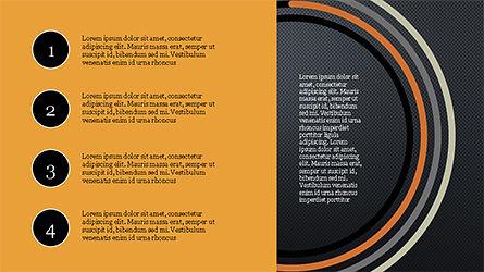 Agenda Options Infographics, Slide 14, 04326, Infographics — PoweredTemplate.com