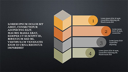 Agenda Options Infographics, Slide 9, 04326, Infographics — PoweredTemplate.com