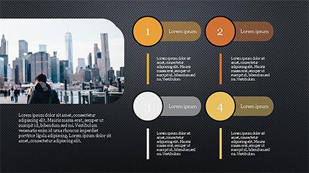 Stage Infographics, Slide 12, 04328, Process Diagrams — PoweredTemplate.com