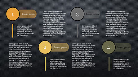 Stage Infographics, Slide 15, 04328, Process Diagrams — PoweredTemplate.com