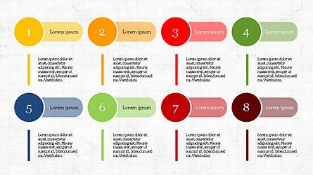 Stage Infographics, Slide 2, 04328, Process Diagrams — PoweredTemplate.com