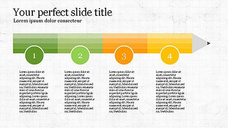 Stage Infographics, Slide 3, 04328, Process Diagrams — PoweredTemplate.com