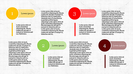 Stage Infographics, Slide 7, 04328, Process Diagrams — PoweredTemplate.com
