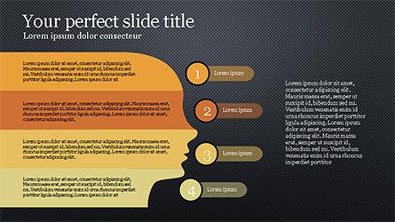 Stage Infographics, Slide 9, 04328, Process Diagrams — PoweredTemplate.com