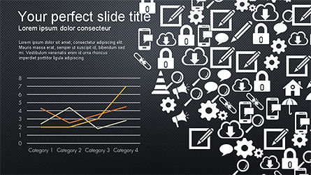 Search and Analysis Presentation Concept, Slide 14, 04329, Icons — PoweredTemplate.com