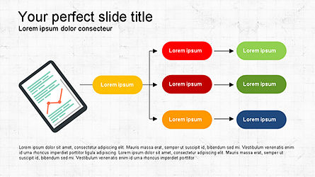 Search and Analysis Presentation Concept, Slide 2, 04329, Icons — PoweredTemplate.com
