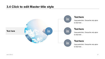 Plain and Clean Style Business Presentation Template, Slide 21, 04332, Presentation Templates — PoweredTemplate.com