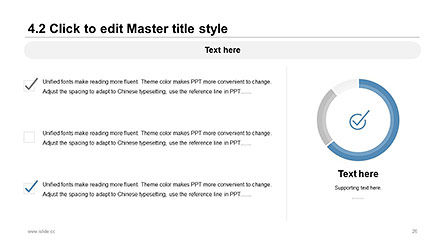 Plain and Clean Style Business Presentation Template, Slide 26, 04332, Presentation Templates — PoweredTemplate.com