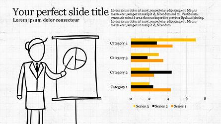 Startup Pitch Deck, Slide 3, 04333, Infographics — PoweredTemplate.com