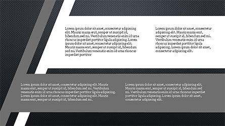 Stages and Tilted Stripes Presentation Template, Slide 16, 04335, Stage Diagrams — PoweredTemplate.com