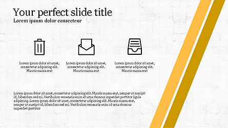 Stages and Tilted Stripes Presentation Template, Slide 3, 04335, Stage Diagrams — PoweredTemplate.com