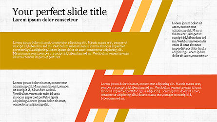 Stages and Tilted Stripes Presentation Template, Slide 6, 04335, Stage Diagrams — PoweredTemplate.com
