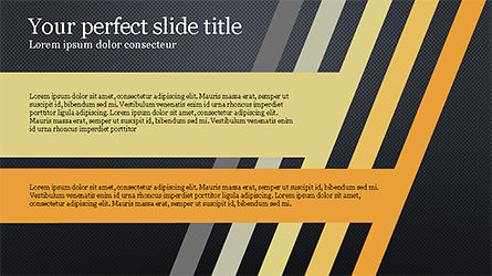 Stages and Tilted Stripes Presentation Template, Slide 9, 04335, Stage Diagrams — PoweredTemplate.com