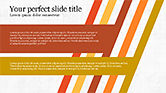 Stage Diagrams: Stages and Tilted Stripes Presentation Template #04335