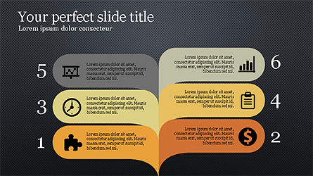 Report Presentation Infographics, Slide 10, 04337, Infographics — PoweredTemplate.com