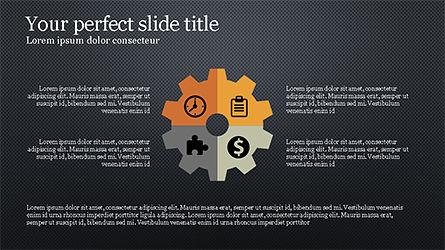 Report Presentation Infographics, Slide 16, 04337, Infographics — PoweredTemplate.com