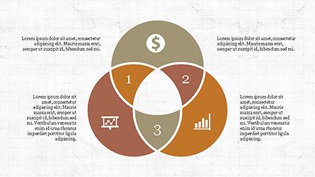 Report Presentation Infographics, Slide 3, 04337, Infographics — PoweredTemplate.com