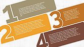 Text Boxes: Numbered Text Banners #04339