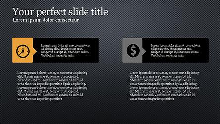 Process Infographics Slides, Slide 16, 04340, Icons — PoweredTemplate.com