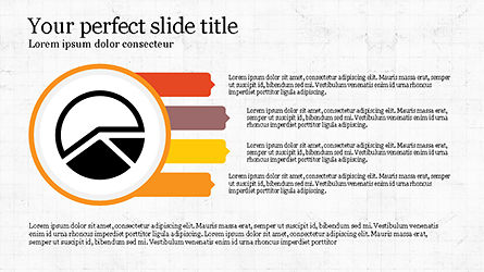 Process Infographics Slides, Slide 7, 04340, Icons — PoweredTemplate.com