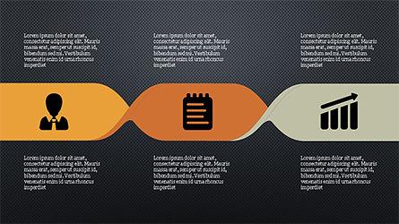 Process Infographics Slides, Slide 9, 04340, Icons — PoweredTemplate.com