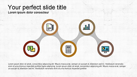 Presentation Template with Icons and Round Shapes, Slide 2, 04342, Icons — PoweredTemplate.com