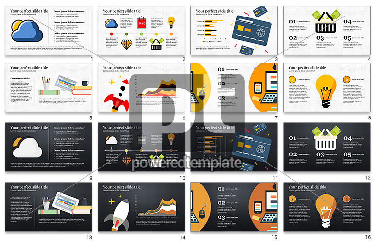 Illustrative Commerce Presentation Template