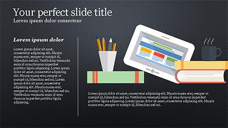 Illustrative Commerce Presentation Template, Slide 13, 04343, Presentation Templates — PoweredTemplate.com
