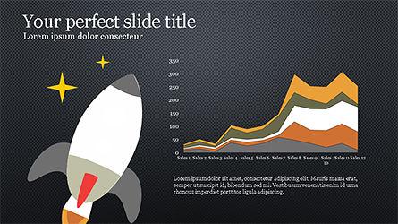 Illustrative Commerce Presentation Template, Slide 14, 04343, Presentation Templates — PoweredTemplate.com