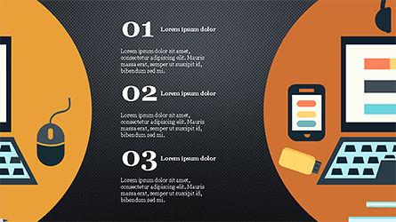 Illustrative Commerce Presentation Template, Slide 15, 04343, Presentation Templates — PoweredTemplate.com