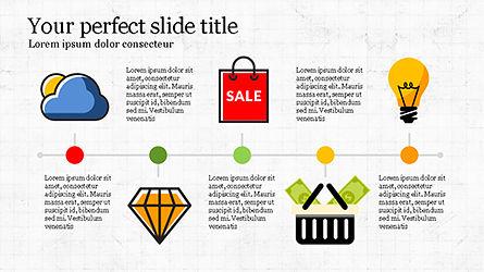 Illustrative Commerce Presentation Template, Slide 2, 04343, Presentation Templates — PoweredTemplate.com