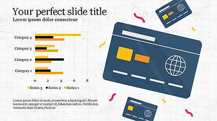 Illustrative Commerce Presentation Template, Slide 3, 04343, Presentation Templates — PoweredTemplate.com