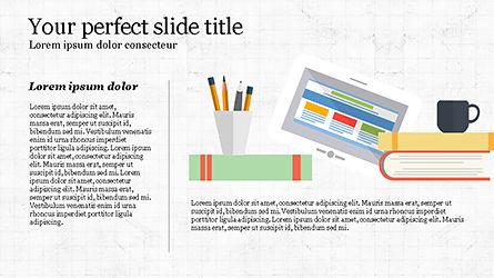 Illustrative Commerce Presentation Template, Slide 5, 04343, Presentation Templates — PoweredTemplate.com