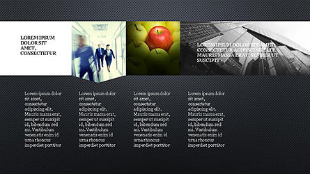 Timeline and Options Presentation Template, Slide 10, 04344, Presentation Templates — PoweredTemplate.com