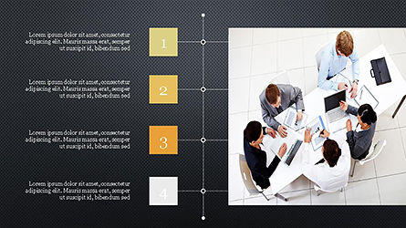 Timeline and Options Presentation Template, Slide 11, 04344, Presentation Templates — PoweredTemplate.com