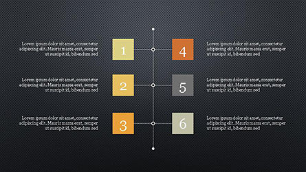 Timeline and Options Presentation Template, Slide 12, 04344, Presentation Templates — PoweredTemplate.com