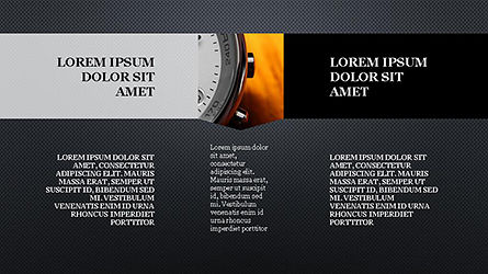 Timeline and Options Presentation Template, Slide 16, 04344, Presentation Templates — PoweredTemplate.com