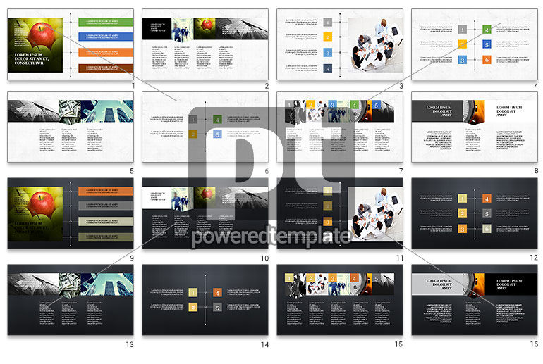 Timeline and Options Presentation Template