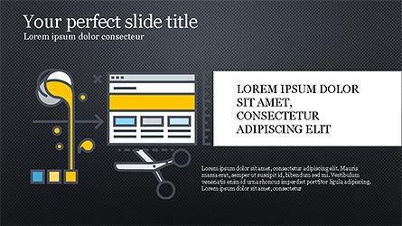 Project Launch Presentation Deck, Slide 12, 04345, Infographics — PoweredTemplate.com