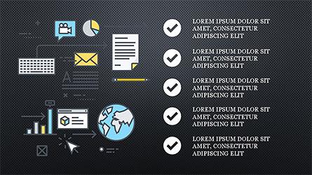 Project Launch Presentation Deck, Slide 15, 04345, Infographics — PoweredTemplate.com