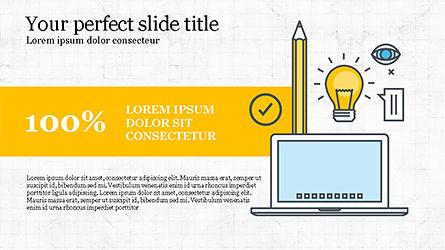 Project Launch Presentation Deck, Slide 3, 04345, Infographics — PoweredTemplate.com