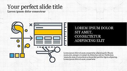 Project Launch Presentation Deck, Slide 4, 04345, Infographics — PoweredTemplate.com