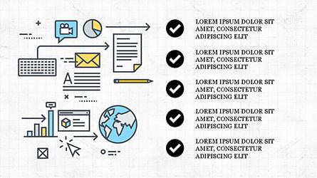 Project Launch Presentation Deck, Slide 7, 04345, Infographics — PoweredTemplate.com