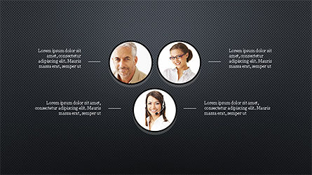 Organizational Charts Slide Deck, Slide 13, 04346, Organizational Charts — PoweredTemplate.com