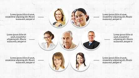Organizational Charts Slide Deck, Slide 3, 04346, Organizational Charts — PoweredTemplate.com