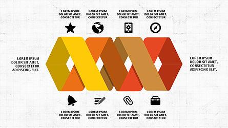 Geometrical Arrows Shapes and Options, Slide 2, 04348, Shapes — PoweredTemplate.com