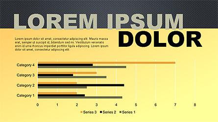 Report Slide Deck, Slide 11, 04349, Data Driven Diagrams and Charts — PoweredTemplate.com