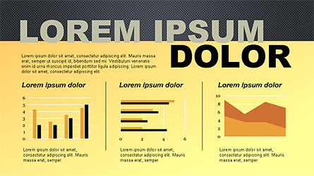 Report Slide Deck, Slide 14, 04349, Data Driven Diagrams and Charts — PoweredTemplate.com