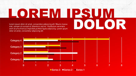 Report Slide Deck, Slide 3, 04349, Data Driven Diagrams and Charts — PoweredTemplate.com