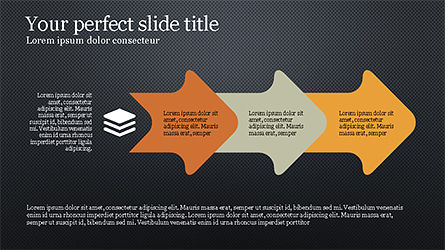 Stunning Presentation Template with Icons and Shapes, Slide 16, 04350, Presentation Templates — PoweredTemplate.com